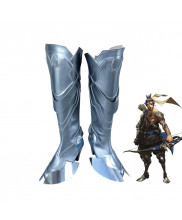 OW Overwatch Shimada Hanzo High Heel Boots Cosplay Shoes