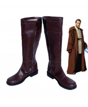 Star Wars Obi Wan Kenobi Boots Cosplay Shoes