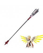 OW Overwatch Mercy Angela Ziegler Devil Skin Wand Cosplay Prop