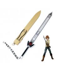 Akame ga Kill Tatsumi Incursio Sealed Sword PVC Cosplay Prop
