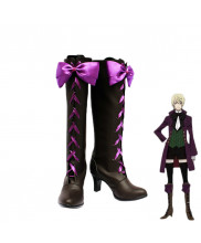Black Butler II Alois Trancy Cosplay Shoes Boots Custom Made