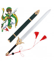 Cardcaptor Sakura LI SYAORAN Sword with Sheath PVC Cosplay Prop