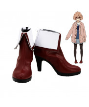 Beyond The Boundary Kuriyama Mirai Cosplay Boots Shoes