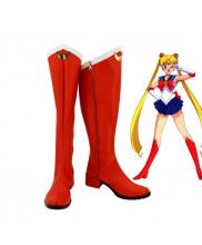 Sailor Moon Serena Cosplay Boots Shoes Custom Made