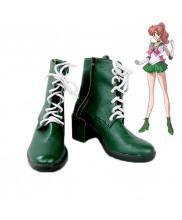 Sailor Moon Kino Makoto Sailor Jupiter Cosplay Shoes Boots