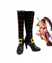 LOL League of Legends Nidalee Cosplay Boots Shoes Custom Made