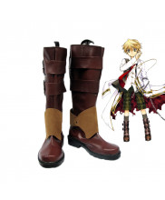 Pandora Hearts Oz Vessalius Shoes Cosplay Boots Custom Made