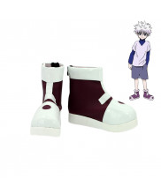 Hunter X Hunter Killua Zoldyck Cosplay Shoes Boots Custom Made