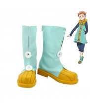 The Seven Deadly Sins King Cosplay Shoes Boots Custom Made