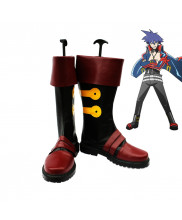 Gurren Lagann Simon Cosplay Shoes Boots Custom Made