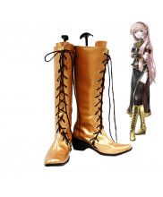 Vocaloid CV03 Megurine Luka Cosplay Boots Shoes Custom Made