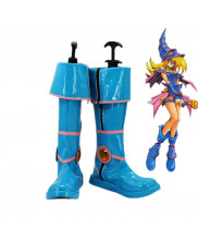 Yu Gi Oh Dark Magician Girl Mana Cosplay Boots Shoes