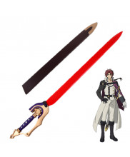 Seraph of the End Owari no Serafu Crowley Eusford Sword Cosplay Prop