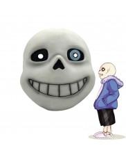 Undertale Sans Full Head Mask Latex Helmet Cosplay Prop