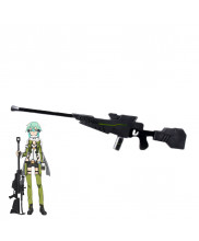 Sword Art Online Ordinal Scale Asada Shino Sinon Gun Cosplay Prop