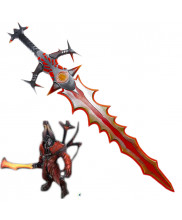 DOTA2 Lucifer Eyeoffetitzu Sword Cosplay Prop