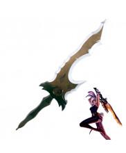 League of Legends Battle Bunny Riven Sword Cosplay Prop