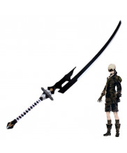 NieR Automata YoRHa No 9 Type S 9S Large Sword Cruel Blood Oath Cosplay Prop