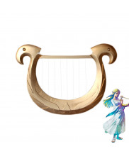 The Legend of Zelda Harp PVC Cosplay Prop