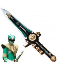 Mighty Morphin Power Rangers Green Ranger Sword Weapon PVC Cosplay Prop