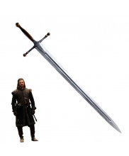 Game of Thrones Ned Eddard Stark Ice Short Sword Cosplay Prop