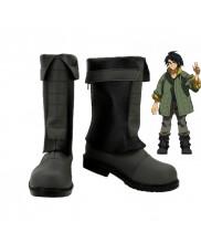 Gundam Iron Blooded Orphans Mikazuki Augus Boots Cosplay Shoes