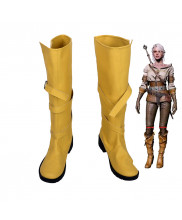 The Witcher 3 Wild Hunt Ciri Cirilla Fiona Elen Riannon Boots Cosplay Shoes