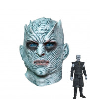 Game of Thrones The White Walkers Night's King Mask Cosplay Prop