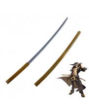 Guilty Gear Xrd REVELATOR Johnny Sfondi Engetsu Sword with Sheath Cosplay Prop