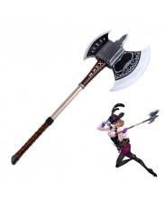 Persona 5 Noir Haru Okumura Axe Cosplay Prop