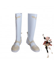 FGO Fate Saber Rider Astolfo White Boots Cosplay Shoes