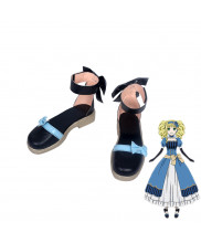 Black Butler Lizzy Elizabeth Ethel Cordelia Midford Black Shoes Cosplay Boots