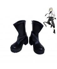 Bungo Stray Dogs Atsushi Nakajima Cosplay Shoes Black Boots