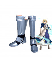 Fate Stay Night Fate Zero Arturia Pendragon Cosplay Shoes Boots
