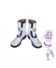 Hyperdimension Neptunia Nepgear Shoes Cosplay Boots Custom Made