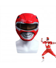 NEW Power Rangers Red Mask Red Ranger Helmet Cosplay Prop