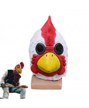 Hotline Miami Helmet Richard Rooster Cock Mask Cosplay Prop