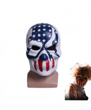 The Purge Election Year Mask American Flag Stars and Stripes Resin Helmet Cosplay Prop