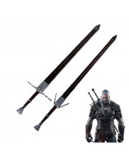 The Witcher 3 Wild Hunt Geralt of Rivia Twin Blade Cosplay Prop