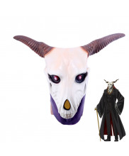 The Aneient Magus Bride Elias Ainsworth Mask Horn Cosplay Helmet Prop