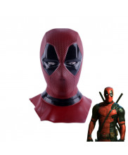 Deadpool Wade Red Full Face Mask Helmet Cosplay Prop