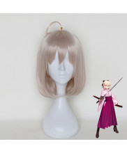 Fate Okita Souji Short Cherry Pink Cosplay Wig