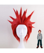 My Hero Academia Eijirou Kirishima Short Garnet Red Cosplay Wig