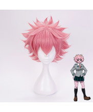 My Hero Academia Ashido Mina Short Pink Cosplay Wig