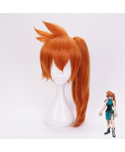 My Hero Academia Kendou Itsuka Long Deep Orange Cosplay Wig