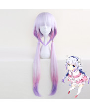 Miss Kobayashi's Dragon Maid Kanna Kamui Long Straight Gradient Cosplay Wig