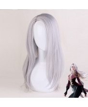 YURI on ICE Victor Nikiforov Long Light Grey Cosplay Wig