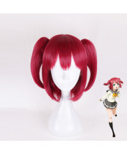Love Live Sunshine Kurosawa Ruby Short Red Cosplay Wig