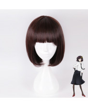 Bungo Stray Dogs Akiko Yosano Short Dark Straight Coffee Cosplay Wig