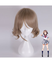 Love Live Sunshine Watanabe You Short Linen Cosplay Wig